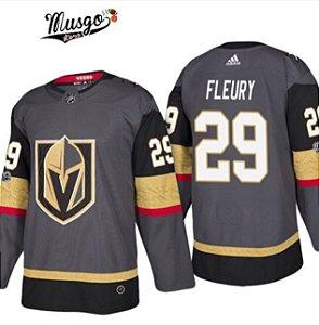 Camisa esporte Hockey NHL Golden Nights Marc-André Fleury Numero 29