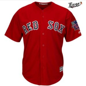 Camisa Esportiva Baseball MLB Boston Red Sox David Ortiz Numero 34 Vermelha