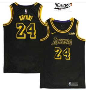 Camiseta Regata Basquete NBA Swingman Los Angeles Lakers Black Mamba Kobe Bryant #24