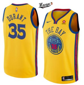 Camiseta Regata Basquete  NBA Warriors The Bay Kevin Durant #35