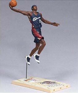 Boneco Miniatura Esportivo Basquete NBA Cleveland Cavaliers Lebron James Numero 23