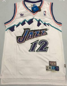 Camiseta Regata Basquete  NBA Utah Jazz John Stockton #12