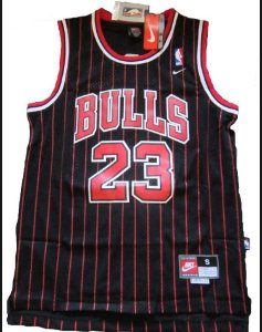 Regata NBA Chicago black Red Bulls Michael Jordan #23