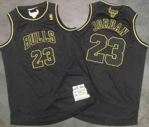 Camiseta Regata  Basquete NBA Swingman Chicago Bulls Classic Black&Gold
