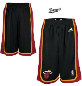 Bermuda Esportiva Basquete NBA Miami Heat Black