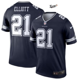 Camisa NFL Dallas Cowboys Ezequiel Elliot #21 blue