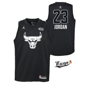 Camiseta Regata Basquete NBA All Star Game Chicago Bulls Michael Jordan #23