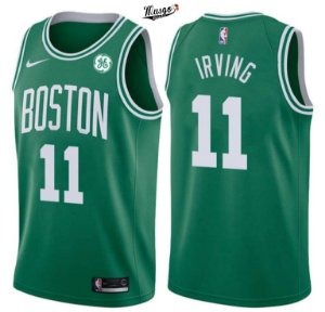 Camiseta Regata Basquete NBA Boston Celtics Kirie Irving #11 green
