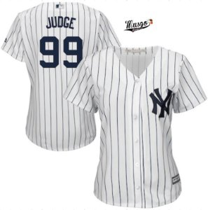 Camisa Baseball MLB New York Yankees Feminina Aron Judge #99