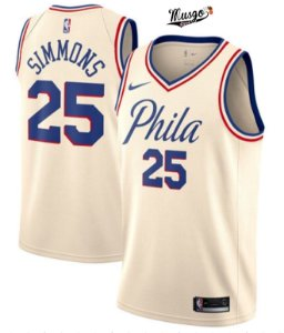 Camiseta Regata Basquete NBA Philadelphia 76ers Natal Ben Simmons #25
