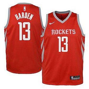 Camiseta Regata Basquete NBA Houston Rockets James Hardem Red #13