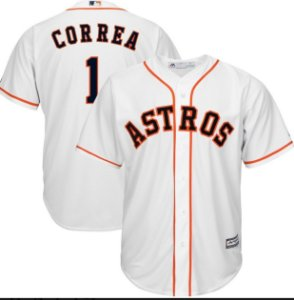 Camisa Baseball MLB Houston Astros Carlos Correa #1