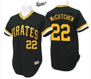 Camisa Baseball MLB Pittsburgh Pirates Andrew Mccutchen #22