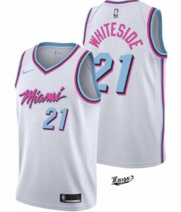 Camiseta Basquete NBA Miami Heat City Edtion Hassan WhiteSide #21