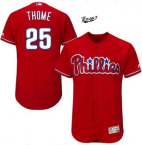 Camisa Baseball MLB Philadelphia Phillies Jim Thome #25