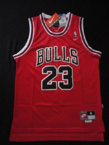 Camiseta Regata Basquete NBA Chicago Bulls Michael Jordan Classic red #23