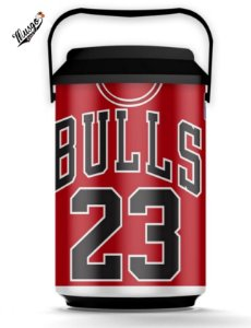 Cooler  Basquete NBA Chicago Bulls Michael Jordan #23