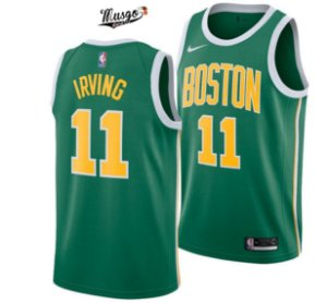 Camiseta Regata Basquete NBA Boston Celtics Earned Edititon Kirie Irving Numero 11