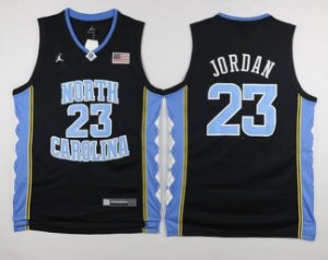 Camiseta Regata Basquete NCAA Universitario North Carolina Michael Jordan #23 Black