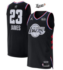 345276e74f3 Camiseta Regata Basquete NBA All star Game 2019 Los Angeles Lakers Lebron  James