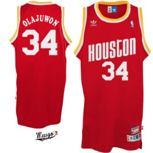 Camiseta Regata Basquete NBA Houston Rockets Hakeen Olajuwon #34