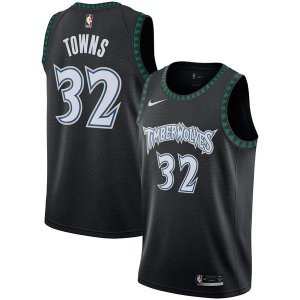 Camiseta Regata Basquete NBA Minnesota TimberWolves Classic  Karl Anthony Towns  Black