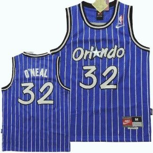Camiseta Esportiva Regata Basquete NBA Orlando Magic Shaq O'neal Numero 32 Azul