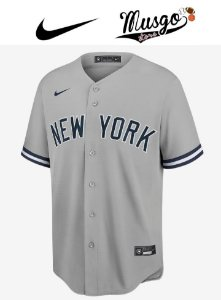 Camisa Esportiva Nike Baseball MLB New York Yankees Aaron Judge numero 99 Cinza