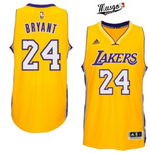 Camiseta Regata Basquete NBA Los Angeles Lakers Kobe Bryant #24 Amarela