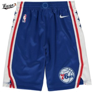 Bermuda Esportiva Basquete NBA Philadelphia 76ers Azul