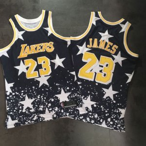 Camiseta Regata Esportiva Basquete NBA Los Angeles Lakers Edição 4 de julho Lebron James #23