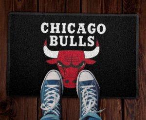 Tapete Capacho Basquete NBA Chicago Bulls