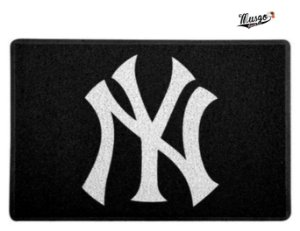 Tapete Capacho Esportivo Baseball MLB New York Yankees