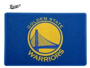 Tapete Esporte Capacho Basquete NBA Golden State Warriors Azul