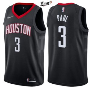 Camiseta Regata  Basquete NBA Houston Rockets Chris Paul Número 3 Preta