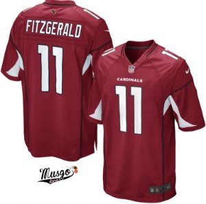 Camisa Futebol Americano NFL Arizona Cardinals Larry Fitzgerald Número 11 Vermelha
