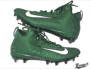 Chuteira Esportiva Futebol Americano Nike Alpha Menace Verde