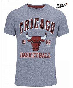 Camisa Esportiva Basquete NBA Torcedor Chicago Bulls Logo - Infantil