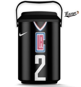 Cooler Esportivo Basquete NBA Los Angeles Clippers Kawhi Leonard Preto