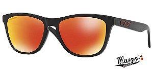 Óculos De Sol Esportivo Oakley Frogskins Ruby