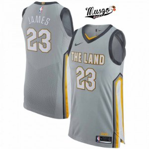 Camiseta Esporte Regata Basquete NBA Cleveland Cavaliers Lebron James Número 23 The Land