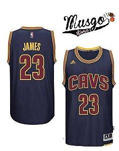 Camiseta Esporte Regata NBA Cleveland Cavaliers Lebron James Numero 23 Azul