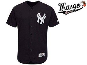 Camisa Esporte Baseball MLB New York Yankees Preta
