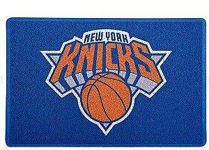 Tapete Capacho Esportivo Basquete NBA New York Knicks Azul
