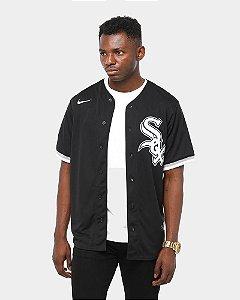 Camisa Esporte Baseball MLB Chicago White Sox Michael Jordan Número 45 -Preta Nova