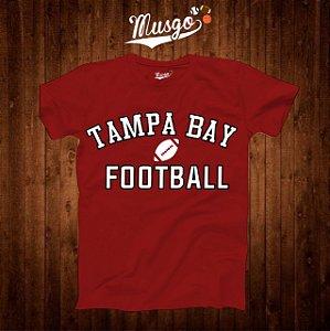 Camisa Esporte Futebol Americano NFL Tampa Bay Tom Brady Número 12 Vermelha