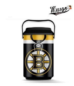 Cooler Esporte Hockey NHL Boston Bruins Preto