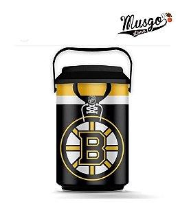 Cooler Esporte Hockey NHL Boston Bruins Preto
