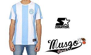 Camisa Esporte Futebol Starter Black Label Club Listrada