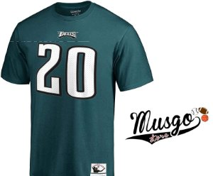 Camisa Esporte NFL Futebol Americano Philadelphia Eagles Brian Dawkins Verde